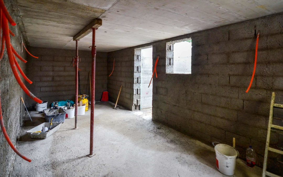 Inetior Basement Waterproofing Windsor - Neroda Construction - Windsor Excavating, Waterproofing & Concrete